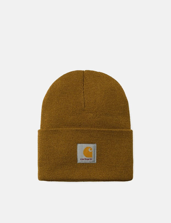 Carhartt-WIP Watch Cap Beanie Hat - Hamilton Brown