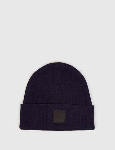 Edwin Watch Beanie Hat - Navy Blue