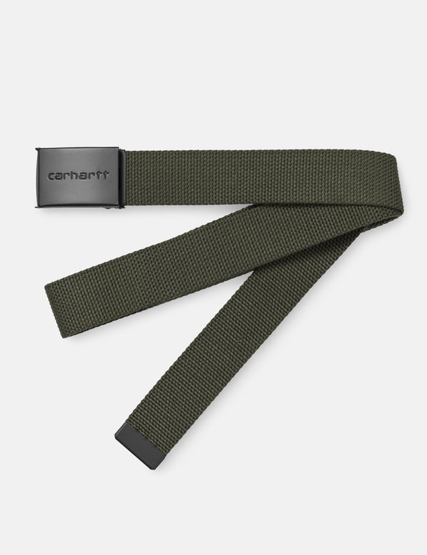 Carhartt-WIP Clip Belt Canvas (Tonal) - Cypress Green