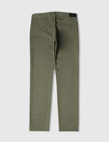 Edwin 55 Chino (Relaxed Tapered) - Military Green