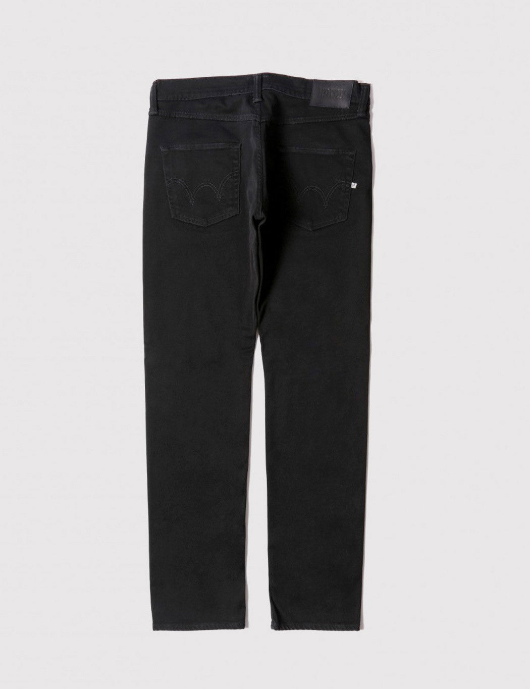 Edwin ED-55 CS Ink Black 11oz Jeans (Relax Tapered) - Black Rinsed