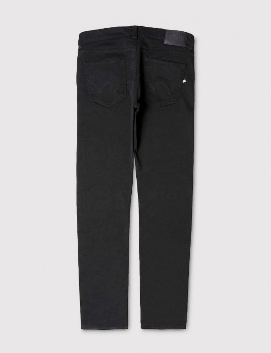 Edwin ED-80 CS Ink Black 11oz Jeans (Slim Tapered) - Black Wash