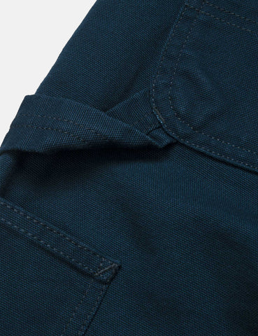 Carhartt-WIP Single Knee Pant - Duck Blue Rinsed