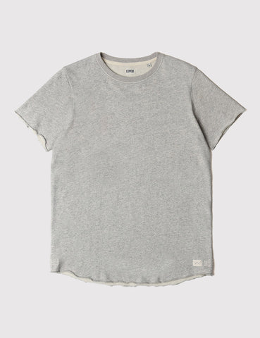 Edwin Terry T-Shirt - Grey Marl