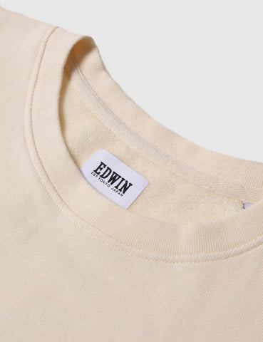 Edwin Terry T-Shirt - Natural
