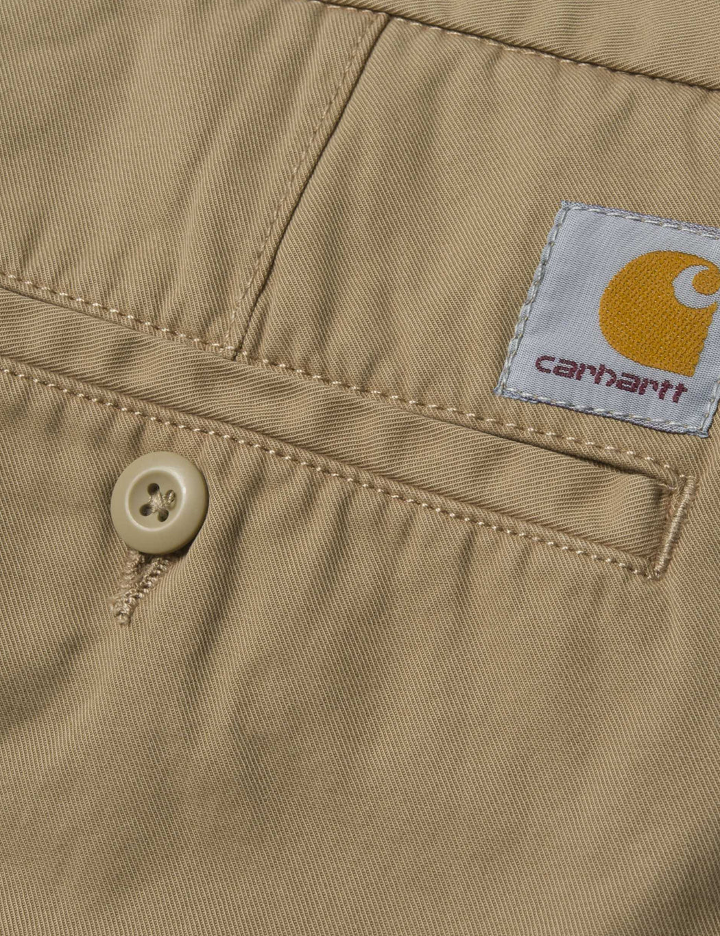 Carhartt John Shorts - Leather Khaki
