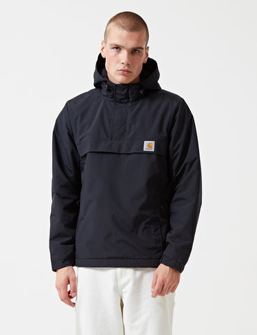 Carhartt Nimbus Half-Zip Jacket (Fleece Lined) - Dark Navy