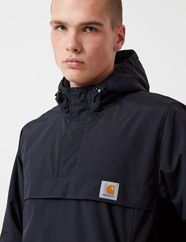 Carhartt-WIP Nimbus Pullover Jacket (Fleece Lined) - Dark Navy