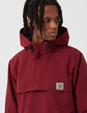 Carhartt-WIP Nimbus Half-Zip Jacket (Fleece Lined) - Mulberry