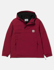Carhartt Nimbus Half-Zip Jacket (Fleece Lined) - Mulberry