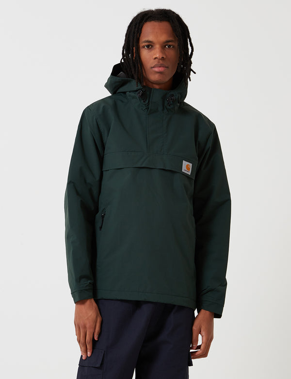 Carhartt-WIP Nimbus Pullover Jacket (Fleece Lined) - Loden Green
