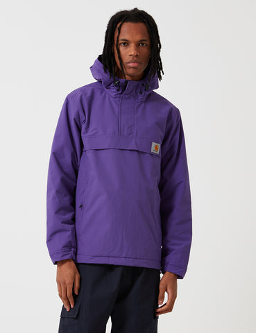 Carhartt Nimbus Half-Zip Jacket (Fleece Lined) - Frosted Viola Purple