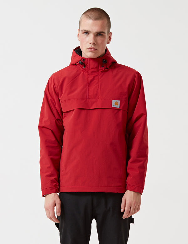 Carhartt Nimbus Half-Zip Jacket (Fleece Lined) - Blast Red