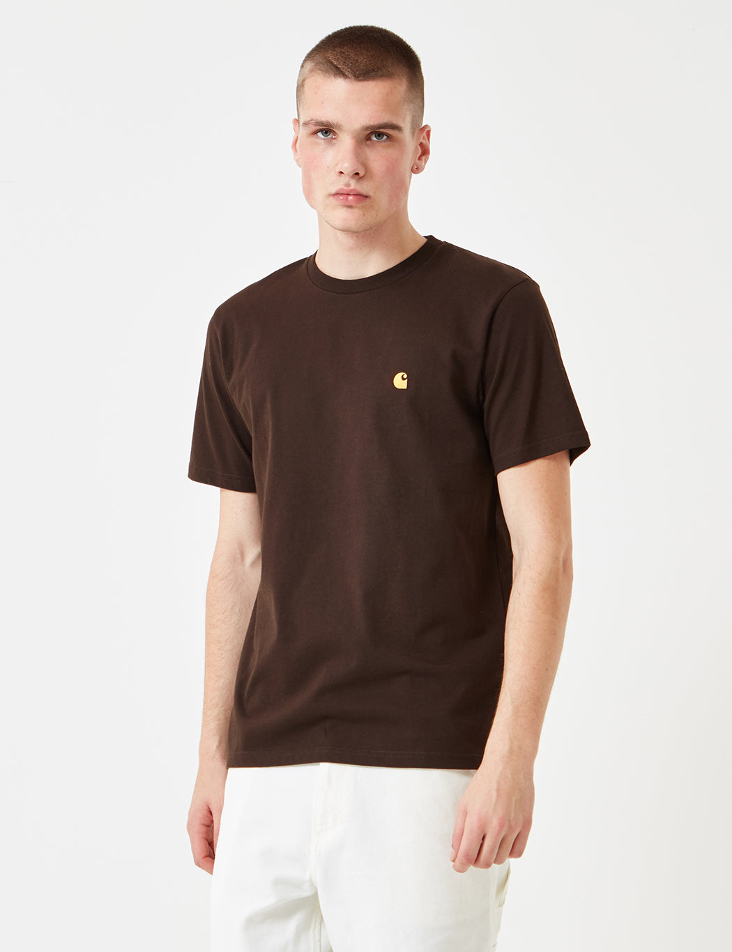 Carhartt Chase T-Shirt - Tobacco Brown