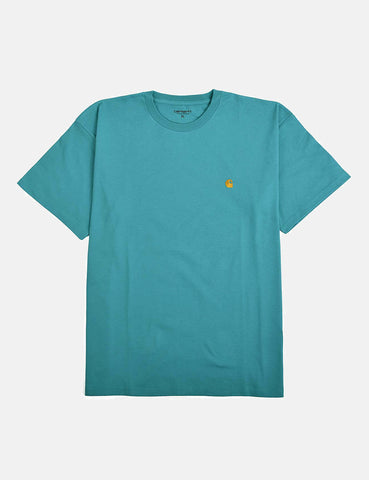 Carhartt Chase T-Shirt - Teal Green