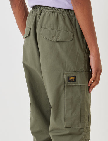 Carhartt Camper Pant (Stone Washed) - Rover Green