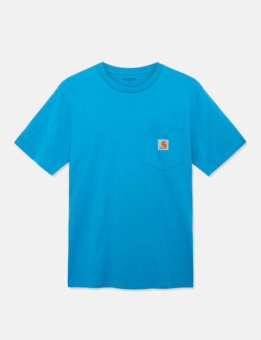 Carhartt Pocket T-Shirt - Pizol Blue
