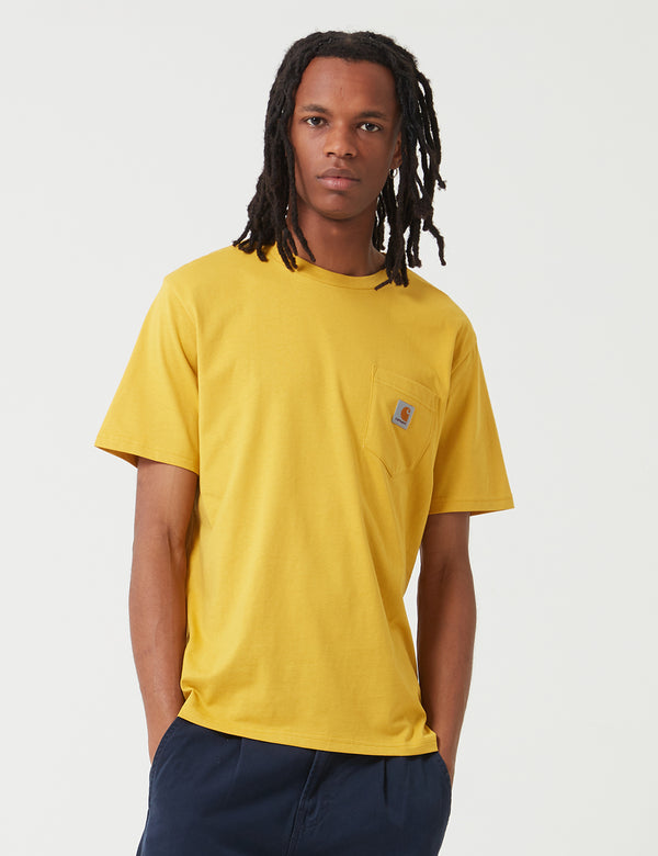 Carhartt-WIP Pocket T-Shirt - Colza Yellow