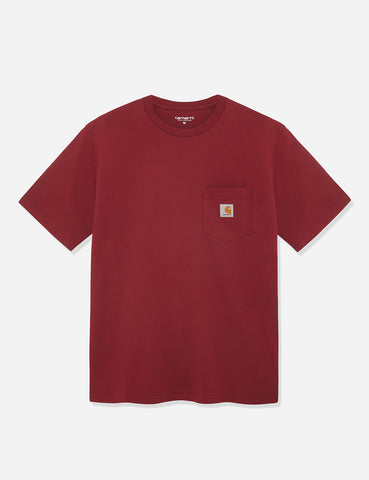 Carhartt Pocket T-Shirt - Mulberry