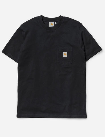 Carhartt Pocket T-Shirt - Black