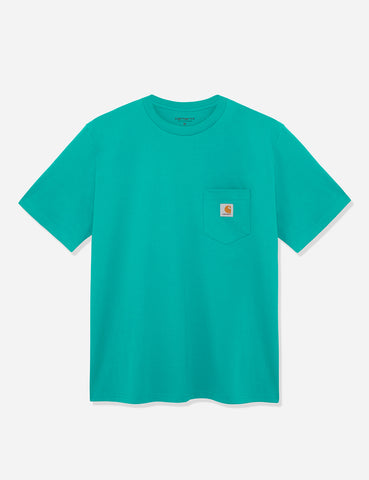 Carhartt Pocket T-Shirt - Cauma Green