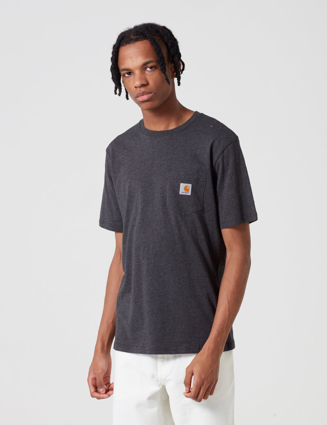 Carhartt Pocket T-Shirt - Black Heather
