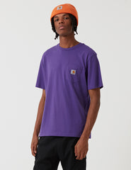 Carhartt Pocket T-Shirt - Frosted Violet