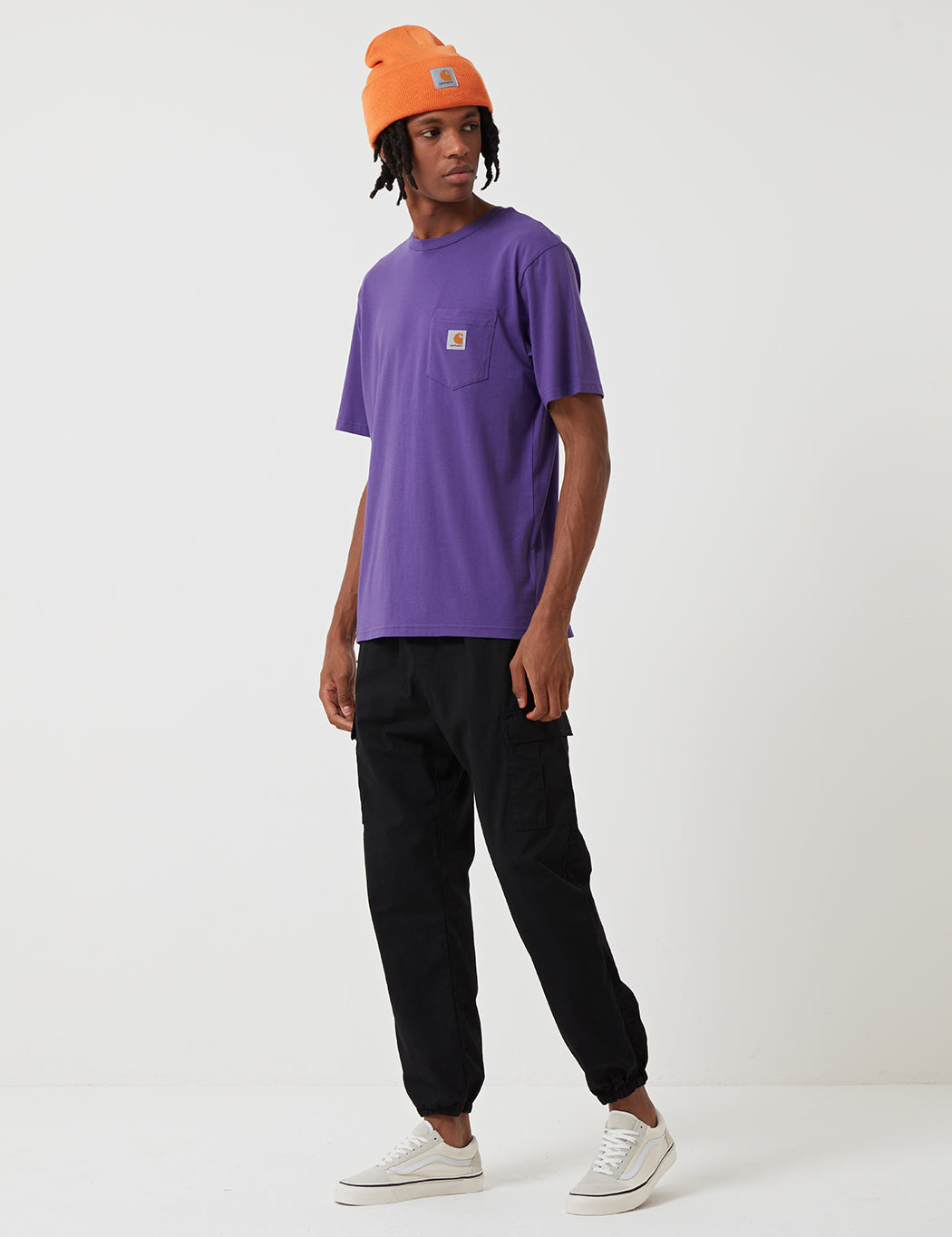 Carhartt-WIP Pocket T-Shirt - Frosted Violet
