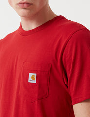 Carhartt Pocket T-Shirt - Blast Red