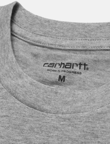 Carhartt Pocket T-Shirt - Grey Heather