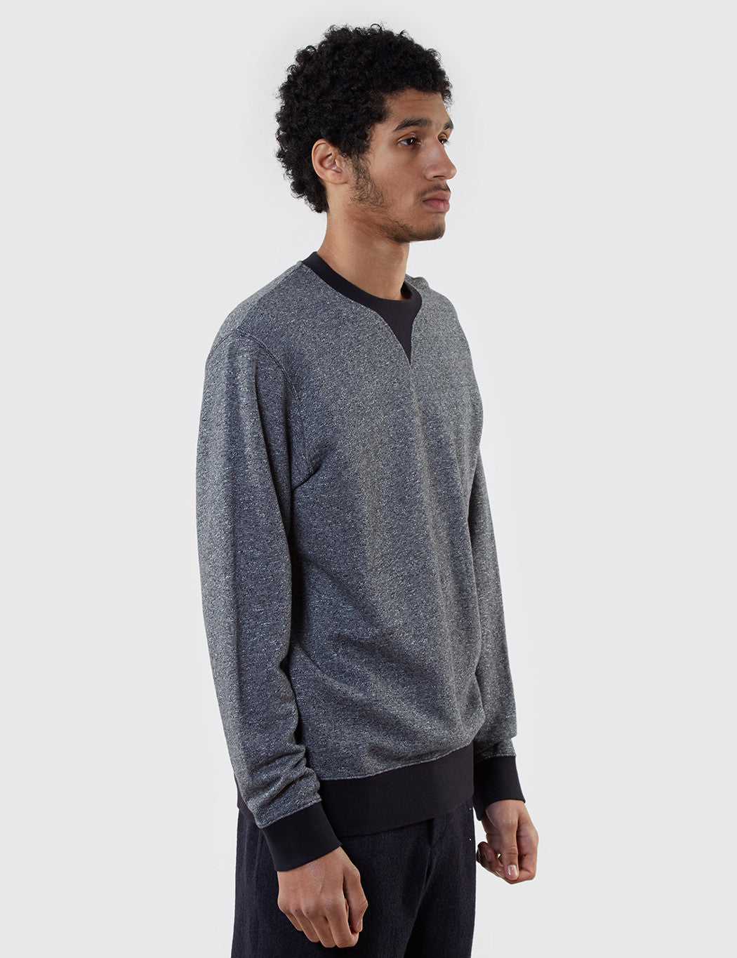 Edwin International Sweat (Marl) - Black