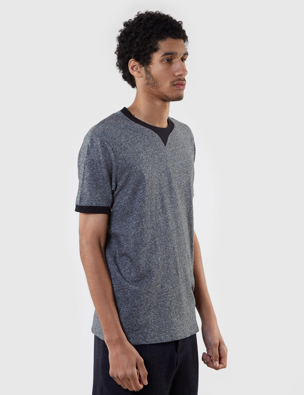 Edwin International T-shirt (Marl) - Black