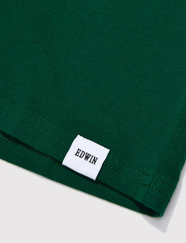 Edwin Pocket T-Shirt - Forest Green