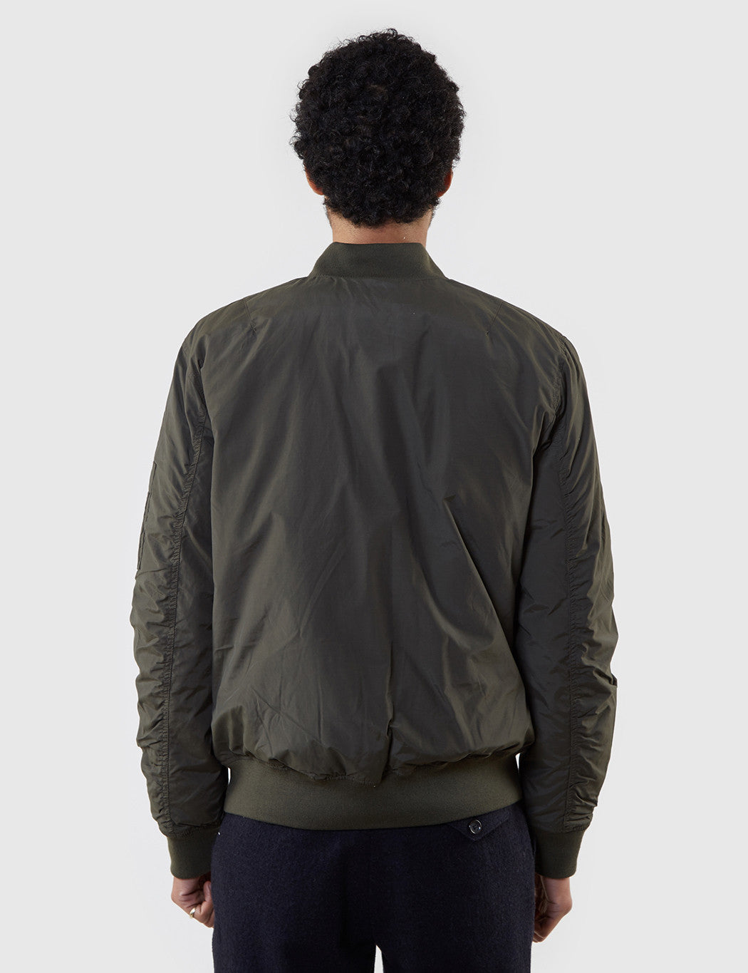 Edwin Flight Bomber Jacket - Uniform Green