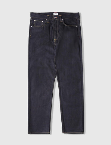 Edwin ED-55 Dark Blue Jeans 12oz (Regular Tapered) - Rinsed