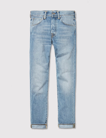 Edwin ED-55 Natural Jeans (Regular Tapered) - Rinsed