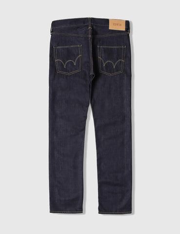 Edwin ED-55 Deep Blue Jeans 11.8oz (Regular Tapered) - Unwashed