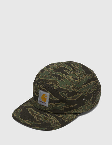 Carhartt Backley 5-Panel Cap - Camo Green