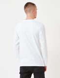Carhartt-WIP Chase Long Sleeve T-Shirt - White