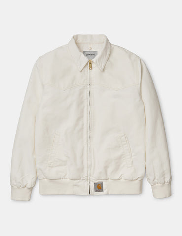 Carhartt Santa Fe Jacket (Rinsed) - Wax
