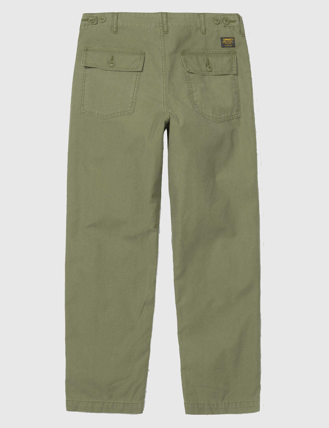 Carhartt Fatigue Pant (Stone Washed) - Dollar Green