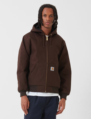 Carhartt Active Jacket (Rigid) - Tobacco Brown