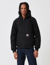 Carhartt-WIP Active Jacket (Organic Cotton) - Black rigid