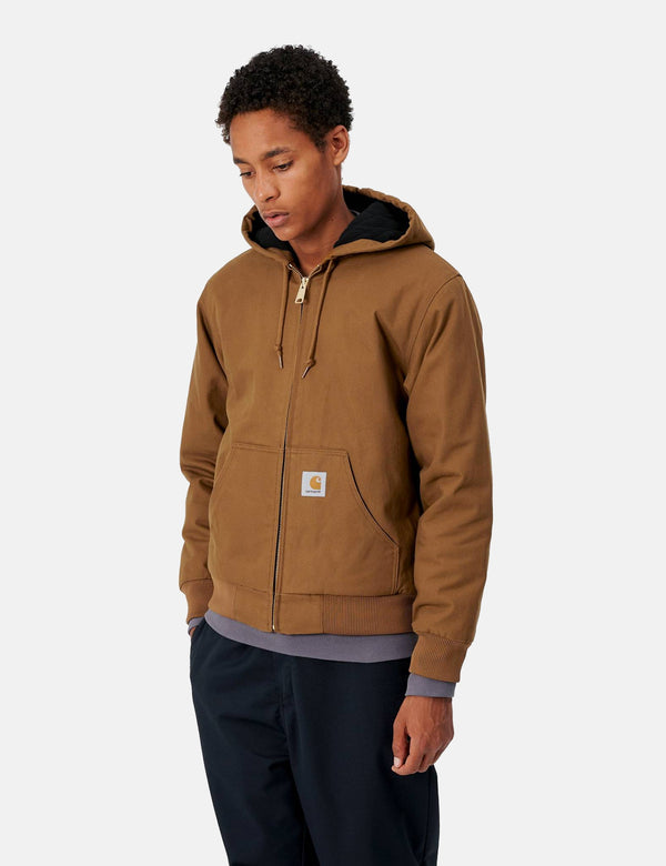 Carhartt-WIP Active Jacket (starr) - Hamilton Brown