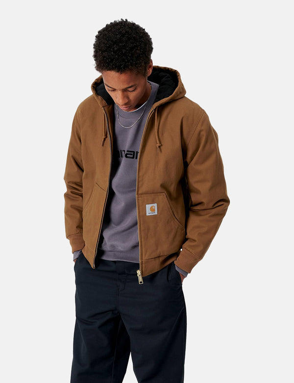 Carhartt-WIP Active Jacket (Rigid) - Hamilton Brown