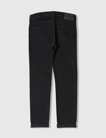 Edwin ED-80 CS White Listed Black Selvage Jeans 13oz (Slim Tapered) - Rinsed