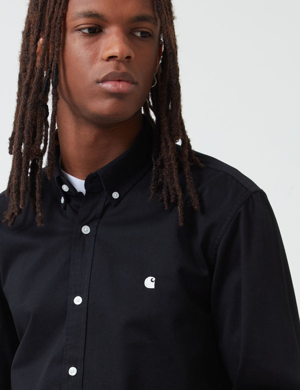 Carhartt-WIP Madison Shirt - Black/Wax