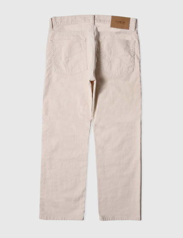 Edwin ED-30 Cropped Jeans 8oz (Loose Fit) - Natural