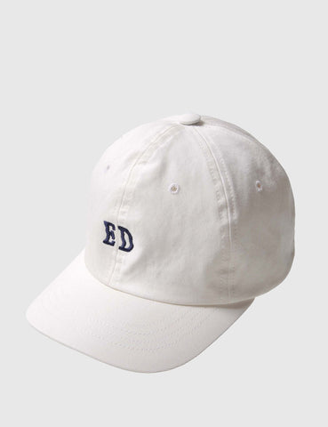 Edwin ED Curved Peak Baseball Cap - Natural