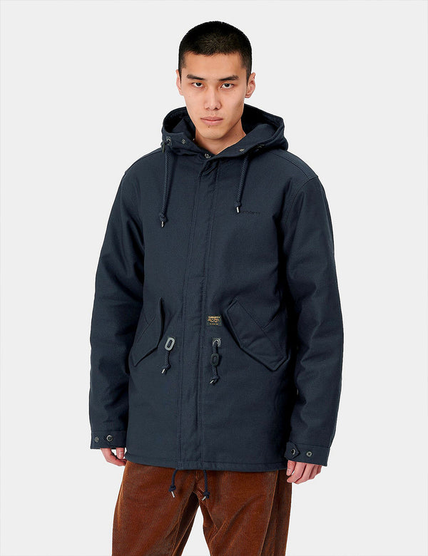 Carhartt-WIP Clash Parka - Dark Navy Blue